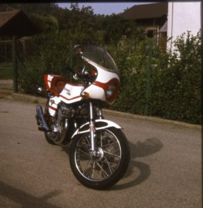 Honda 705 Bimota Umbau